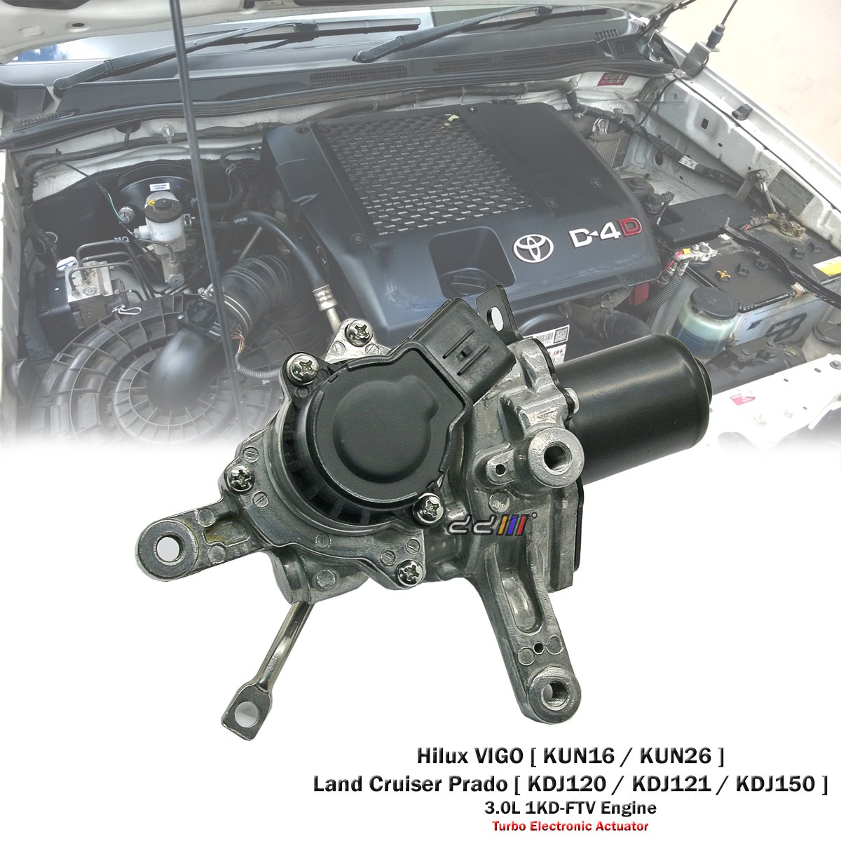 Turbo Electronic Actuator For Toyota Hilux VIGO D-4D KUN16 KUN26 1KD-FTV CT16V D&D (Drag&Drift)