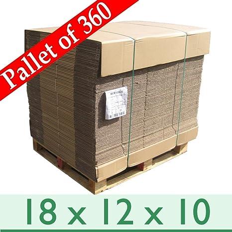 360 x A3 casa eliminación de embalaje de cajas de cartón corrugado – doble pared –