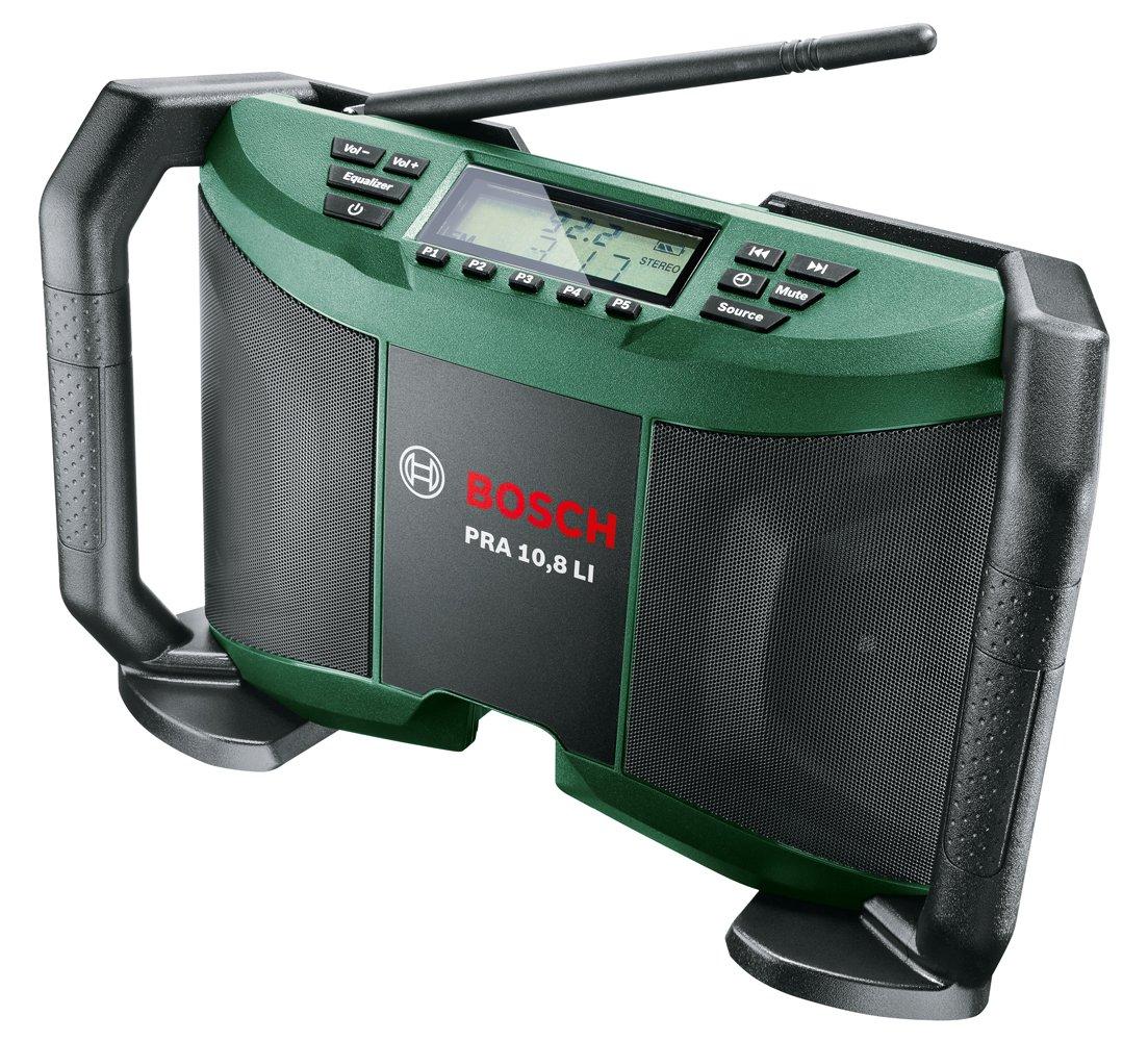 Bosch Akku Radio EasyRadio 12 (ohne Akku, AUX-Kabel, Karton, 12 Volt System) 06039B1001