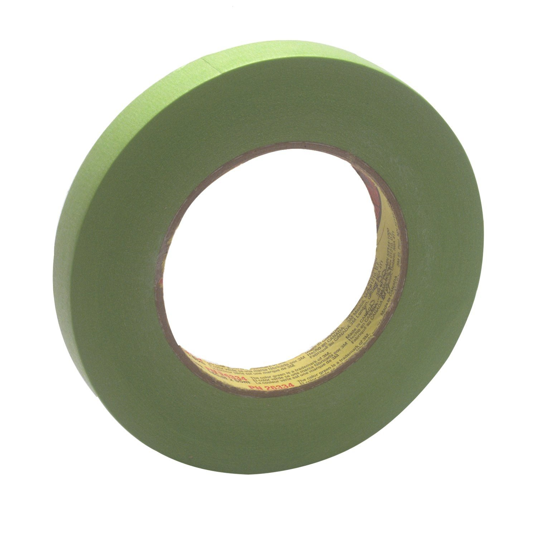 3M 3/4 inch 233 Plus Masking Tape Green