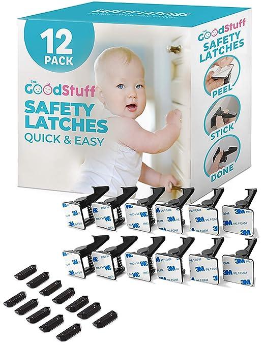 8Pcs Kindersicherung Schubladensicherung Schrankschloss Baby Kinder Schutz Safe