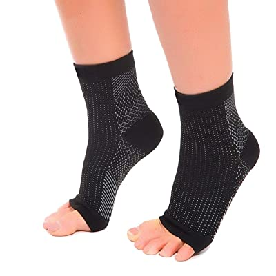 Amazon.com : Tarusky Plantar Fasciitis Compression Ankle Sleeves Foot Pain Relief Socks : Sports & Outdoors