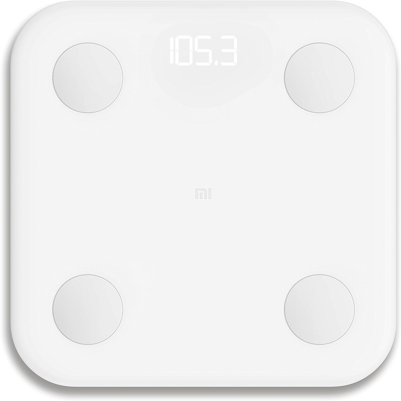 Xiaomi Mi LPN4013GL - Bascula de baño, electrodos de acero ...