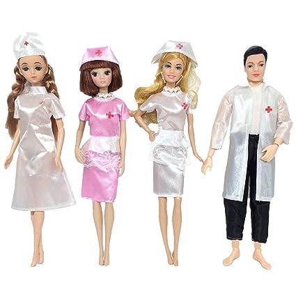 99ab68f5ef7 Amazon.com: Gosear Clothes for Barbie, Career Apparel Clothes ...