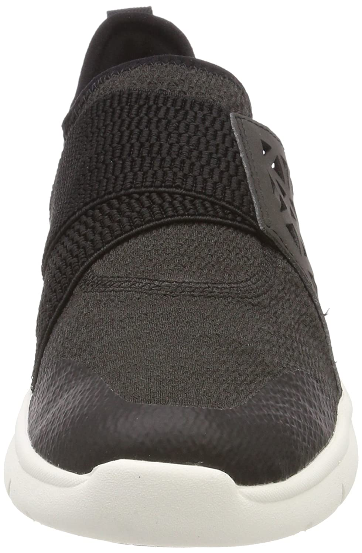 Timberland Damen Boltero Slip on Sneaker, Schwarz (Black Front 001), 39 EU