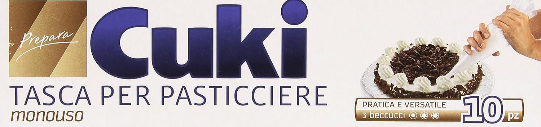 Cuki - Tasca Per Pasticciere, Monouso, 3 Beccucci -   10 Pezzi Cuki Cofresco