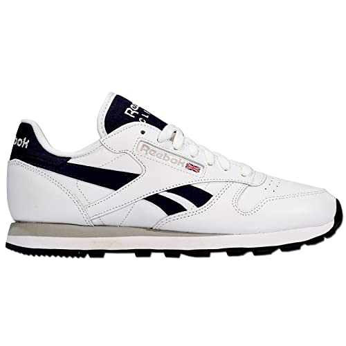 Reebok Classic Leather Pop Zapatillas de deporte para hombre, color Blanco, talla 42 EU: Amazon.es: Zapatos y complementos