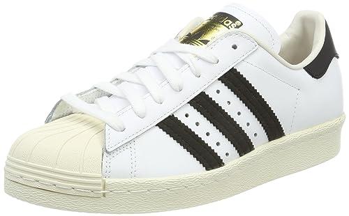 brand new 1bd0a 181f1 adidas Superstar 80S, Scarpe da Ginnastica Uomo, Bianco (White Black 1
