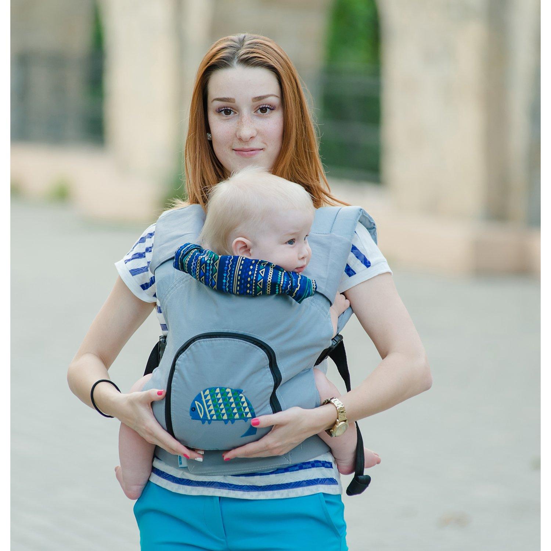 Designer Cotton Buckle Baby Carrier Oceania Toddler Carrier Ergo