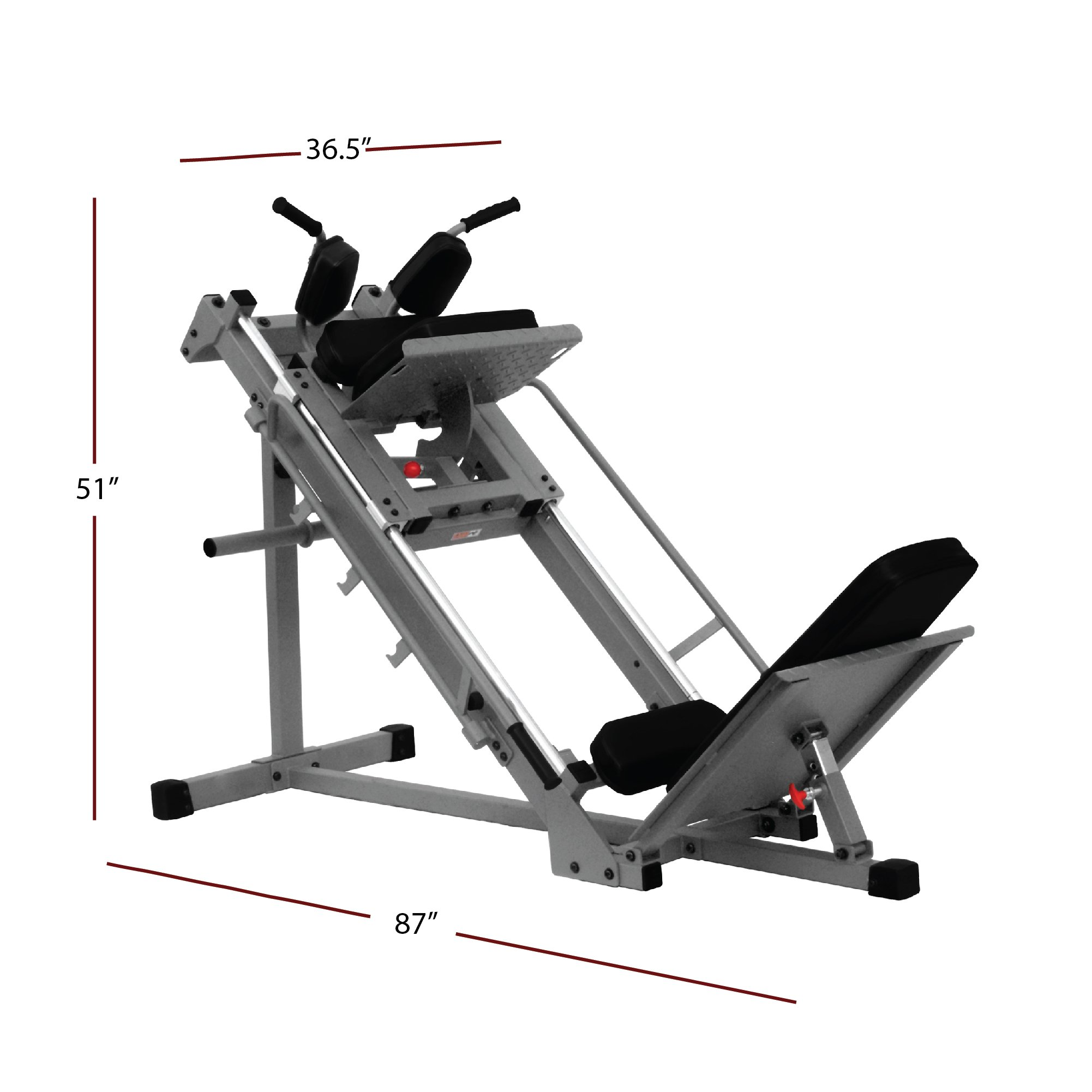 XMark  Leg Press Hack Squat XM-7616 by XMark Fitness