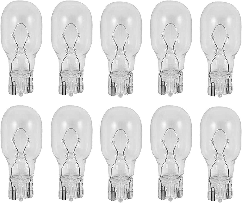 12 Volt 7 Watt Low Voltage T5 Landscape Bulb - Landscape Light Bulbs - Low Voltage Landscape Light Bulbs - 10 Pack