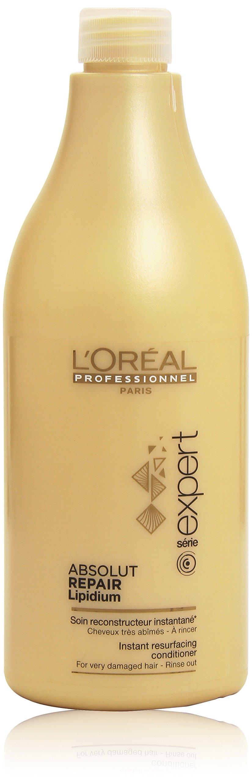 L'Oreal Professional Series Expert Absolute Repair Lipidium Conditioner, 25.36 Fl Oz