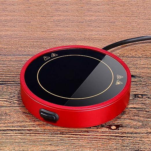 USB Calentador Taza Carcasa De Aleación Calentador De Tazas ...