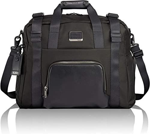 TUMI – Alpha Bravo Buckley Duffel Bag – Travel Laptop Satchel for Men and Women – Black