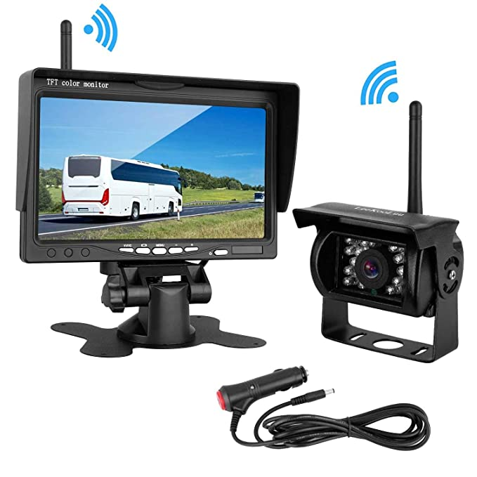Review LeeKooLuu Wireless Backup Camera