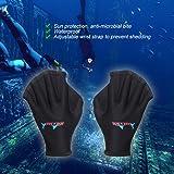 Pawaca Neoprene Diving Webbed Gloves,Swimming