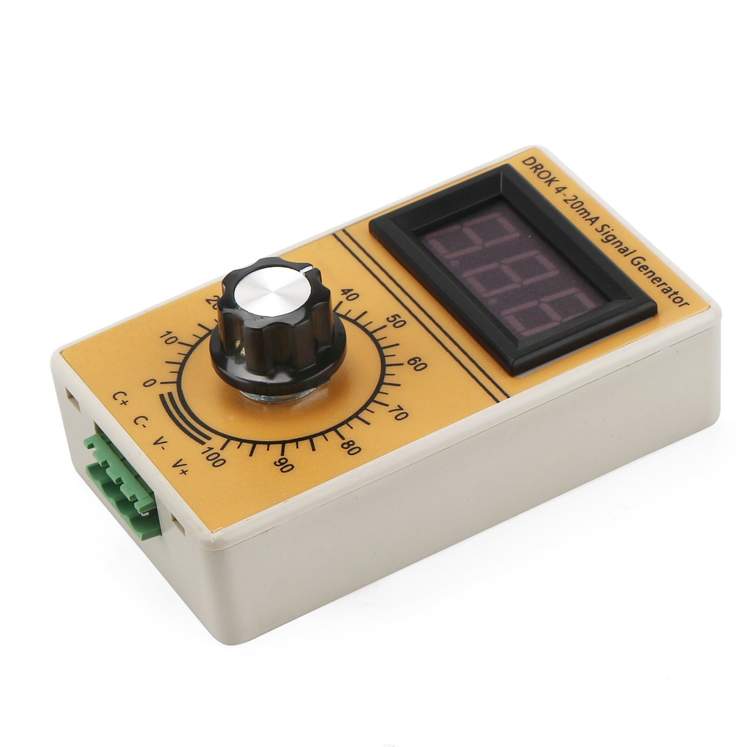 Drok 4 20ma Signal Generator Constant Current Source Ampere Meter Function Circuit Car Tuning Handheld Device Digital Display Analog Generating Suitable For Valve
