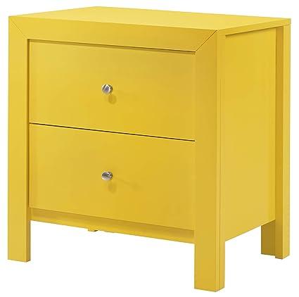 Fine Amazon Com Glory Furniture Burlington G2402 N Yellow Dailytribune Chair Design For Home Dailytribuneorg