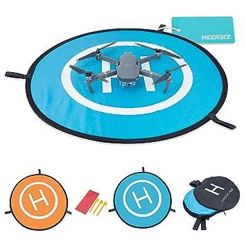 Meersee Drone Landing Pad 75cm Pista de Aterrizaje para dji ...