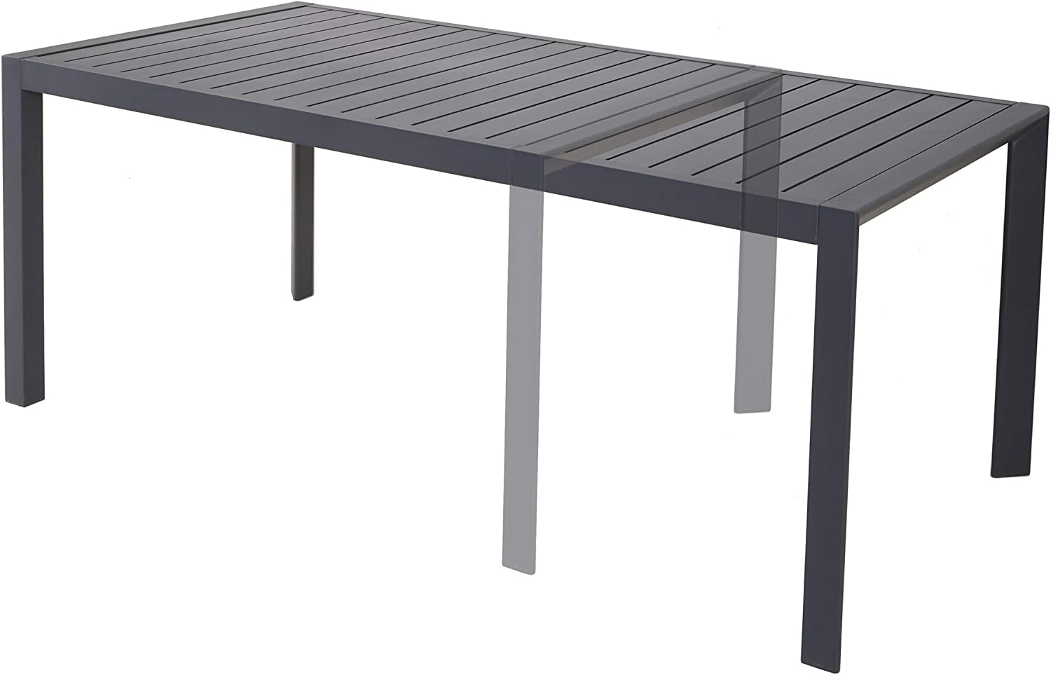 Chicreat - Mesa extensible para exteriores, 180 x 90 x 71, 5 cm ...