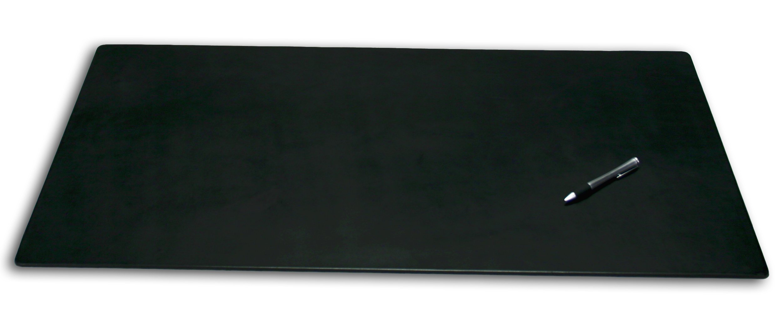 Dacasso Leatherette Office Desk Pad, 38 by 24-Inch, Black