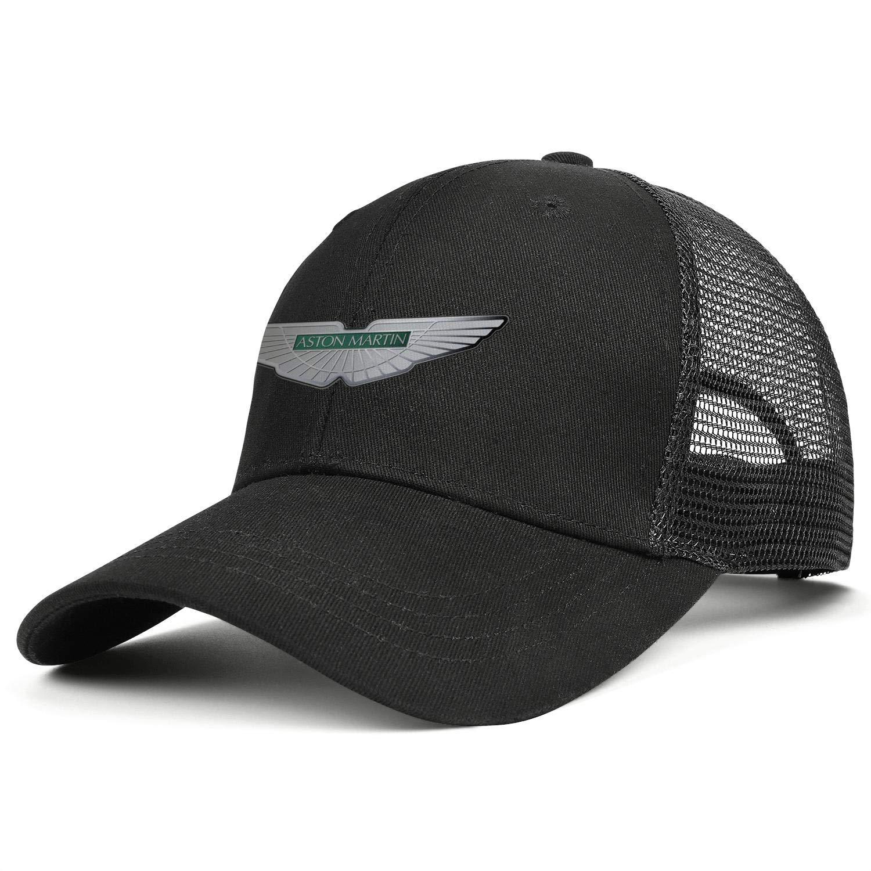 Snapback Curved Mesh Hat Cotton Black Dad Caps Aston-Martin