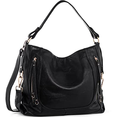 Amazon.com: UTAKE Women's Shoulder Bags PU Leather Hobo Handbags ...