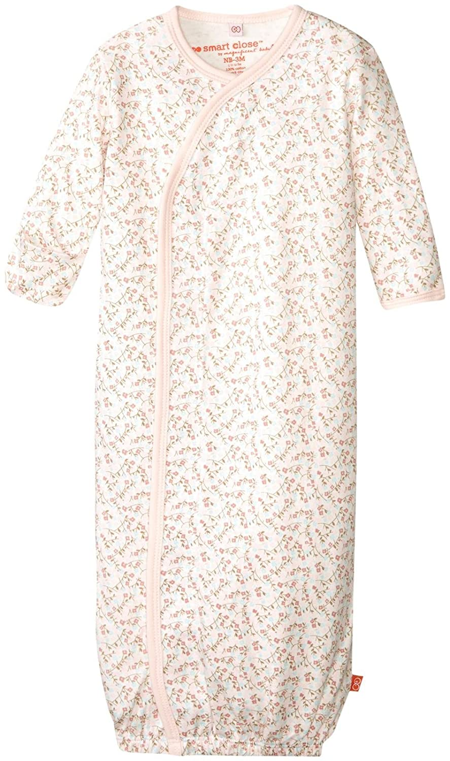 Magnificent Baby Baby Girls' Magnetic Bedford Floral Gown New Born 11124