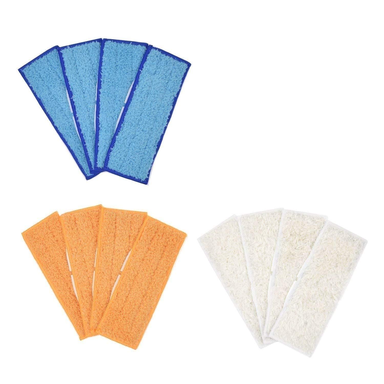 DerBlue 10-Packs Wet Cloths for iRobot Braava 380 380t 320 Mint 4200 4205 5200 5200C Vacuum Cleaner