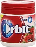 Orbit Bote - Fresa, Chicle Sin Azúcar, 60 grágeas