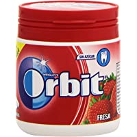 Orbit Fresa Chicle Sin Azúcar - 60 grágeas