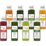 The Fountain of Juice 100% Raw Cold-Pressed Juice No-HPP Variety Pack (8 Juices)