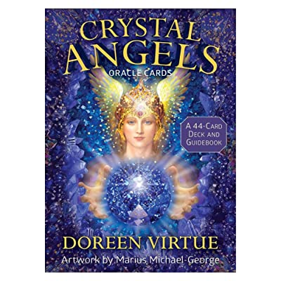 hemistin Crystal Angels Oracle Cards: 44 Tarot Cards Set: Home & Kitchen