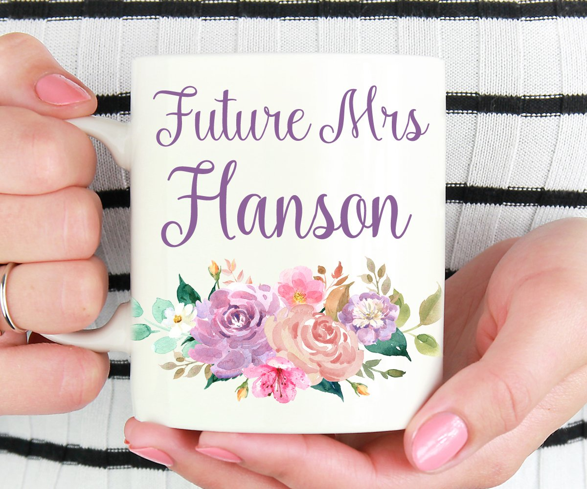 Future Mrs Personalized Mug, Bride-To-Be Gift