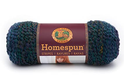 Amazon Lion Brand Yarn 790 236 Homespun Yarn Celestial Stripes