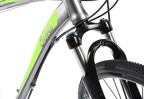 Bicicleta híbrida Ford Kuga DD para hombre., color Silver / Green ...