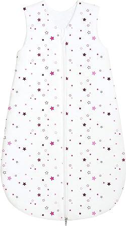 Odenw/älder Jersey-Sommerschlafsack Sterne pink /& blackberry Gr/ö/ße in cm:70 cm