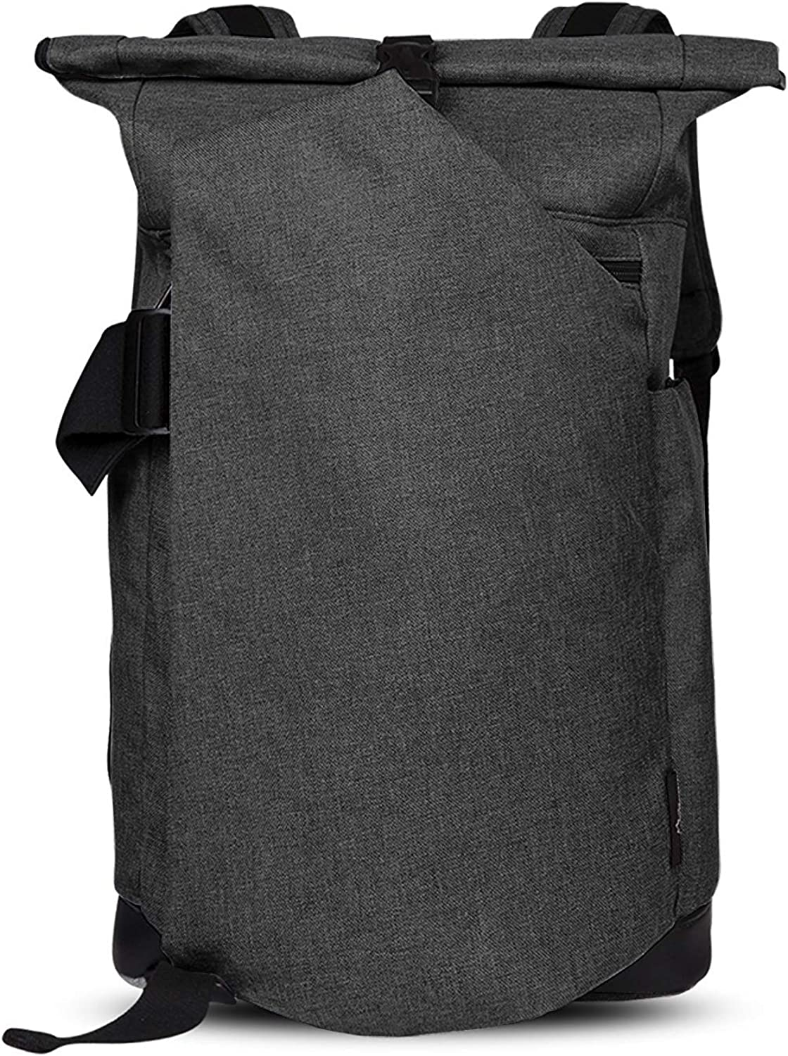 Cai Rolltop Backpack, Business Laptop Anti-Theft Rucksack School Backpack, 30L