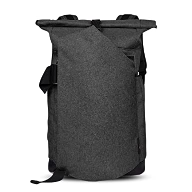 Amazon.com: Cai Rolltop Backpack Travel Backpack Waterproof Laptop Backpack 30L, Black: Computers & Accessories