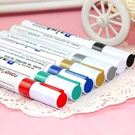 Permanent Paint Pen Tire Waterproof Outdoor Marking Ink Marker UniversaL