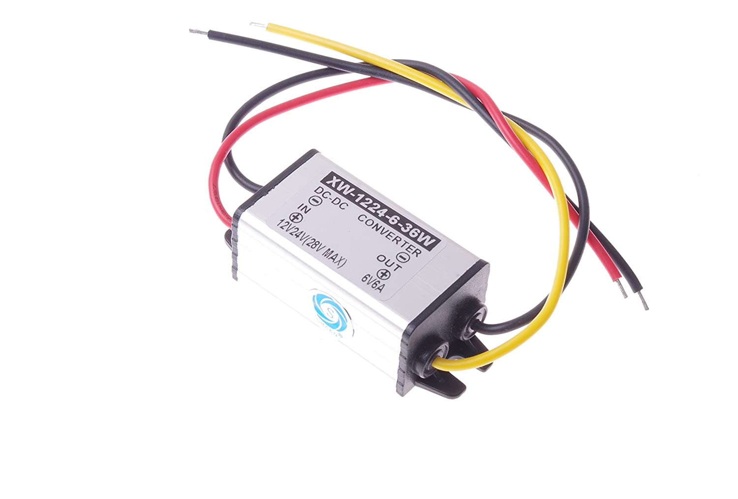 Smakn Dc 12v To 6v 6a 36w Buck Power Converter Tda2003 Voltage Circuits Step Down Supply Waterproof Automotive