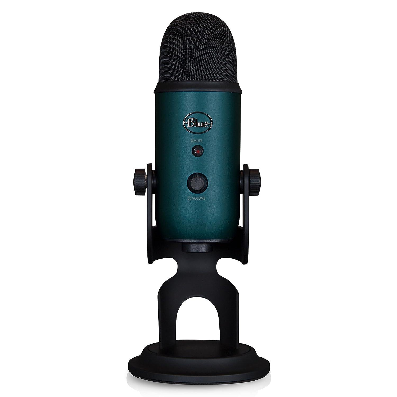 Microfono Condensador Profesional Usb Blue Yeti Teal (xmp)