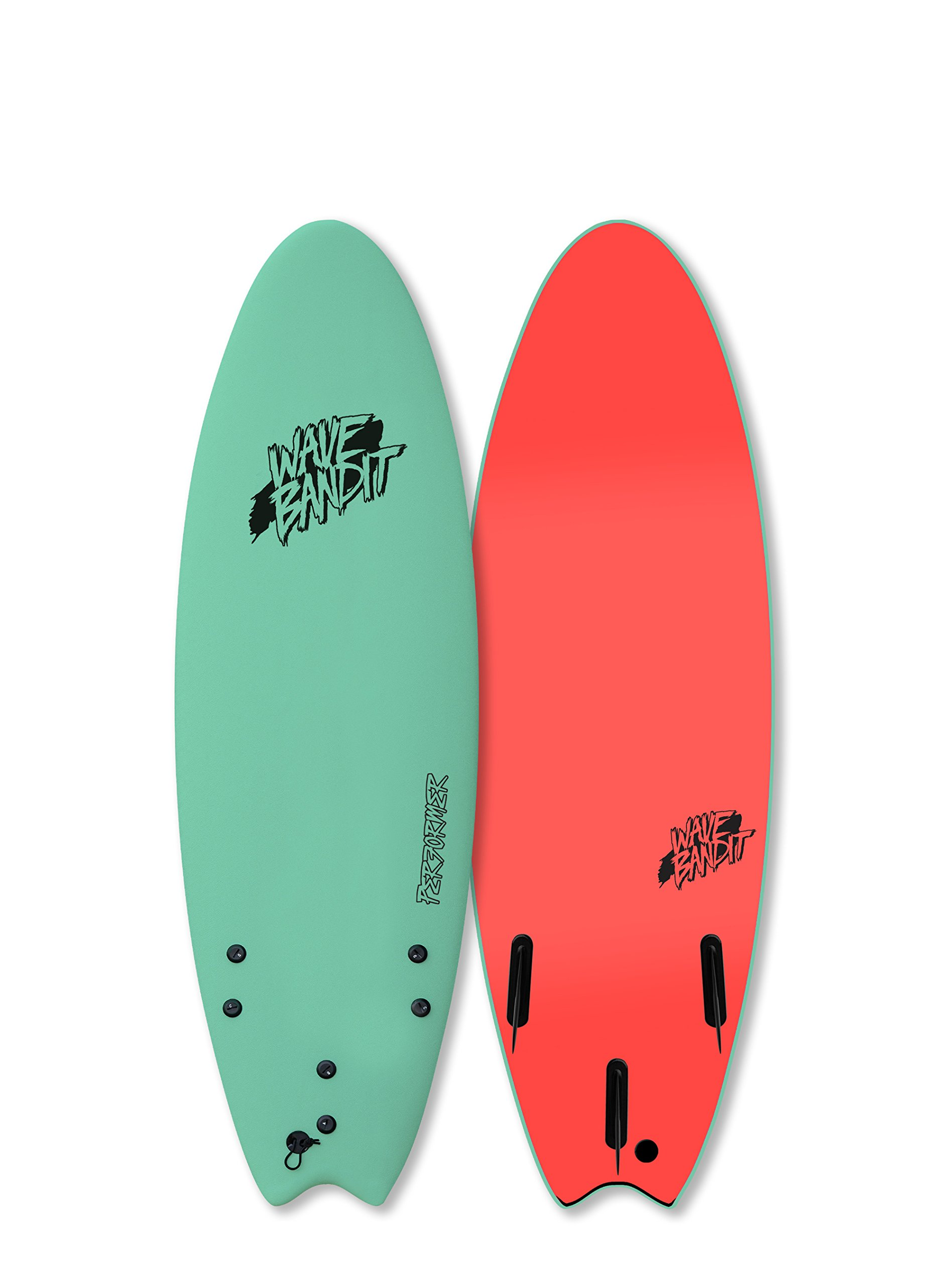 Wave Bandit Performer Tri, Mint, 5'6''