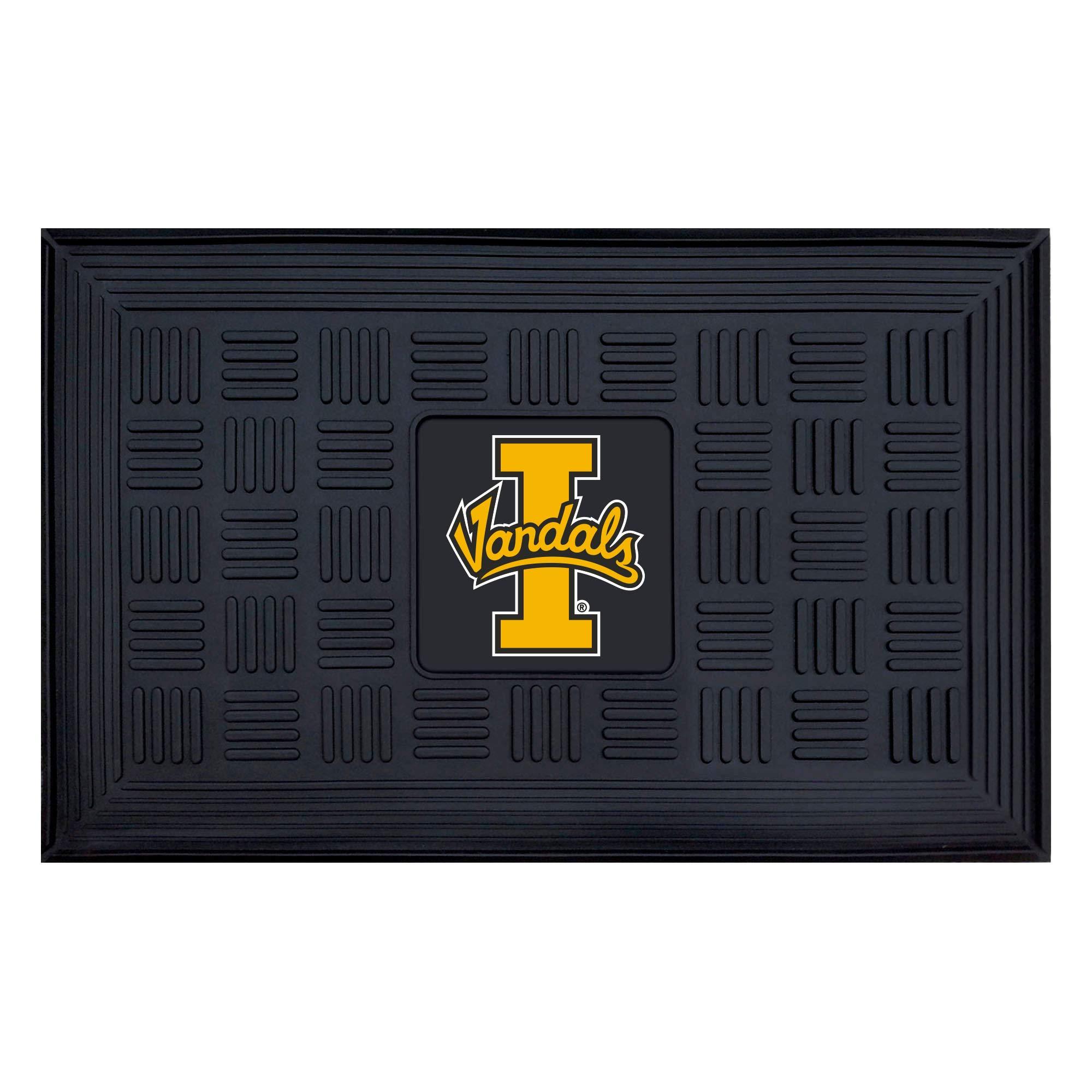 NCAA University of Idaho Vandals 3-D Team Medallion Vinyl Door Mat