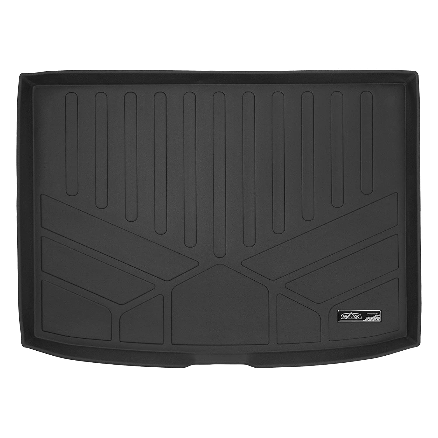 SMARTLINER All Weather Cargo Liner Floor Mat Black for 2017-2018 Kia NIRO (No Plug-in Hybrid Models) MAXLINER D0264