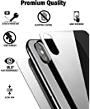 [Techglee] Iphone X Screen Protector Tempered Glass, (2 Packs) [Front and Back] Ultra Clear Tempered Glass, [2D Edge][3D Touch] Anti Scratch Screen Tempered Glass for Apple Iphone 10 [Case Friendly]