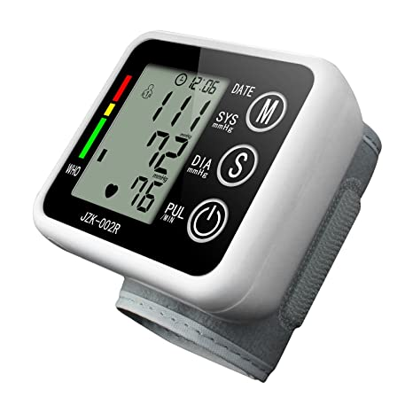 Tensiómetro Muñeca Toprime- 002 Patrón de Voz Almacenados Datos Monitor Muñeco de Presion Arterial Carga