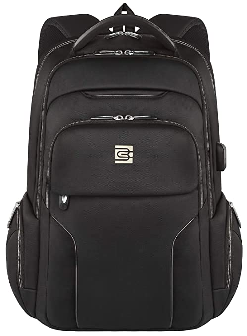 ee2f7e13a Laptop Backpack,Business Travel Slim Durable Anti Theft Laptops Backpack  with USB Charging Port,