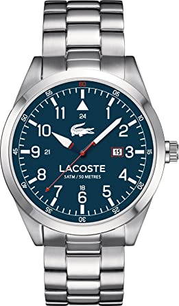 lacoste mens watch 2010783 amazon co uk watches lacoste mens watch 2010783