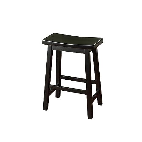 Target Kitchen Stools | Amazon Com Target Marketing Systems 24 Inch Arizona Wooden Saddle